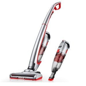 Deik Cordless Vacuum, Stick Vacuum Cleaner with Long Lasting Rechargeable Battery